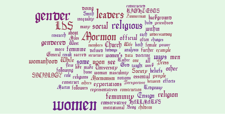 The Hallmarks of Righteous Women: Gendered Background
